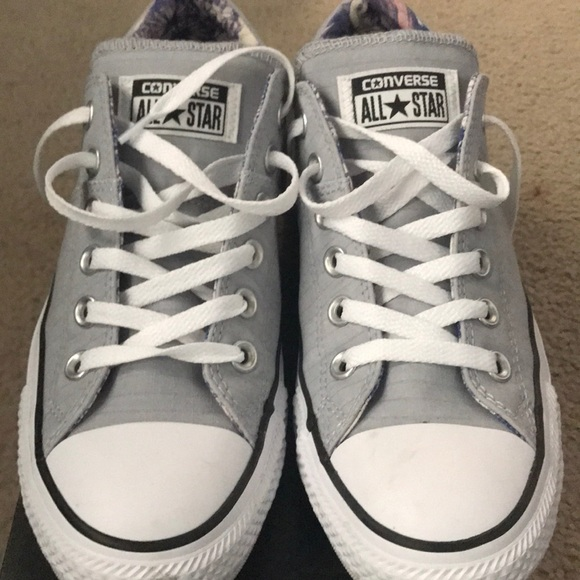 Converse Shoes - Converse Chuck Taylor's. Size 8 in Wolf Grey.